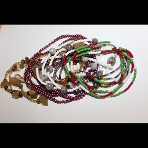 Beaded necklaces!